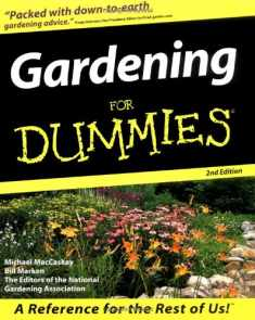 Gardening For Dummies (For Dummies (Computer/Tech))