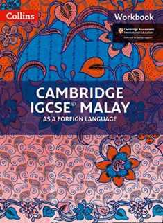 Cambridge IGCSE® Malay as a Foreign Language: Workbook (Cambridge International Examinations)