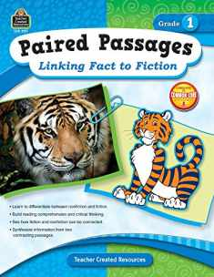 Teacher Created Resources Paired Passages: Linking Fact to Fiction Book, Grade 1