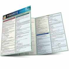 Finance Equations & Answers (Quick Study Academic)