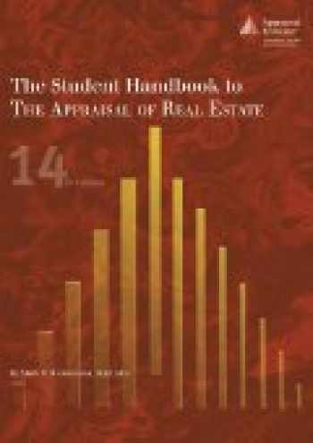 9781935328506-1935328506-The Student Handbook to The Appraisal of Real Estate, 14th edition