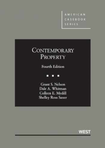 9780314927040-0314927042-Contemporary Property (American Casebook Series)