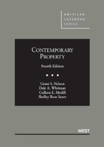 9780314927040-0314927042-Contemporary Property, 4th (American Casebook Series)
