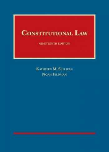 9781634594479-1634594479-Constitutional Law (University Casebook Series)