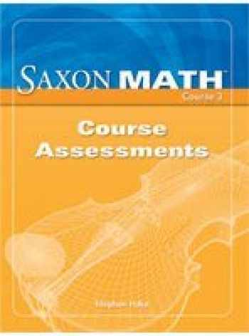 Sell Buy Or Rent Saxon Math Course 3 Assessments 9781591419105 1591419107 Online