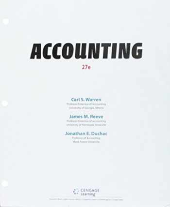 9781337587426-1337587427-Bundle: Accounting, Loose-leaf Version, 27th + CengageNOWv2, 2 terms Printed Access Card