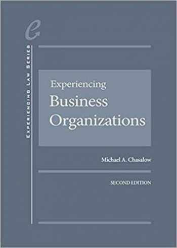 9781683283522-168328352X-Experiencing Business Organizations (Experiencing Law Series)