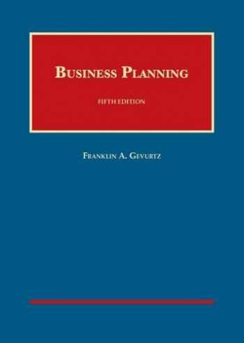 9781609304539-1609304535-Business Planning (University Casebook Series)