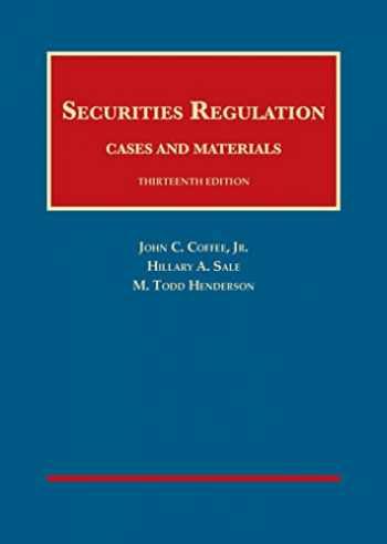 9781628102192-1628102195-Securities Regulation (University Casebook Series)
