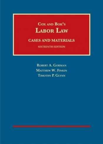 9781628101515-1628101512-Labor Law (University Casebook Series)