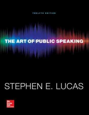 9780073523910-0073523917-The Art of Public Speaking (Communication) Standalone Book