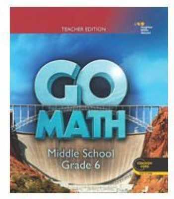 9780544065710-0544065719-Go Math: Teacher Edition Grade 6 2014