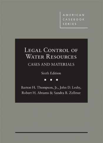 9781683289838-1683289838-Legal Control of Water Resources: Cases and Materials (American Casebook Series)