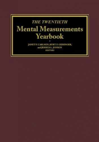 9780910674669-0910674663-The Twentieth Mental Measurements Yearbook