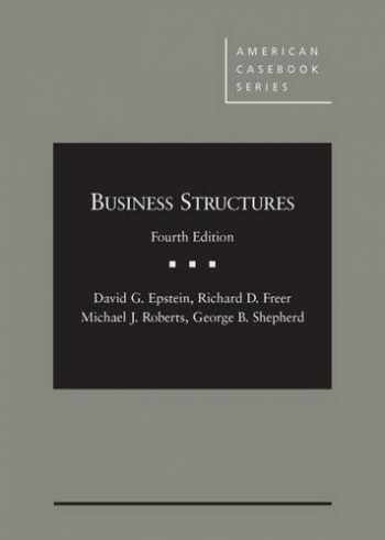 9780314287038-0314287035-Business Structures, 4th (American Casebook Series)