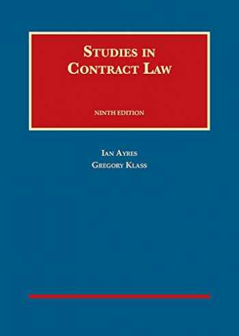 9781634603256-1634603257-STUDIES IN CONTRACT LAW 9