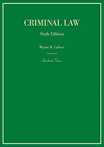 9781683288817-1683288815-Criminal Law (Hornbooks)