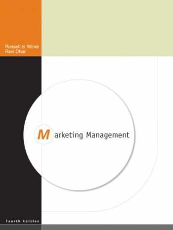 9780136074892-0136074898-Marketing Management (4th Edition)