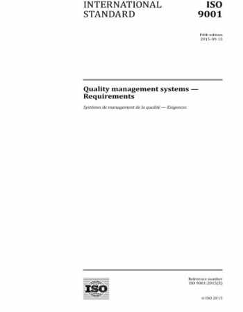 9789267106779-9267106775-ISO 9001:2015, Fifth Edition: Quality management systems - Requirements
