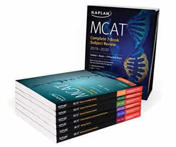 MCAT Complete 7-Book Subject Review 2019-2020: Online + Book (Kaplan Test Prep)