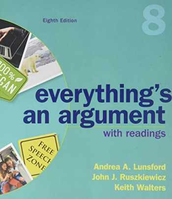 9781319056261-1319056261-Everything's An Argument with Readings