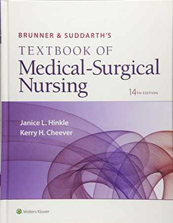 9781496347992-1496347994-Brunner & Suddarth's Textbook of Medical-Surgical Nursing (Brunner and Suddarth's Textbook of Medical-Surgical)