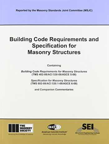 9781929081295-1929081294-ACI 530-08 Building Code Requirements and Specification for Masonry Structures