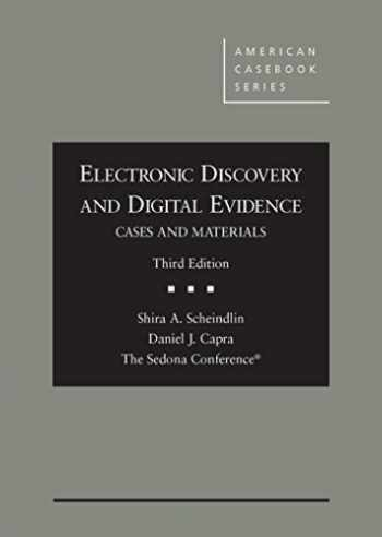 9781634592246-1634592247-Electronic Discovery and Digital Evidence, Cases and Materials (Coursebook)