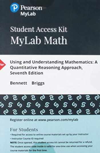 9780134715858-0134715853-MyLab Math with Pearson eText -- 24 Month Standalone Access Card -- for Using & Understanding Mathematics