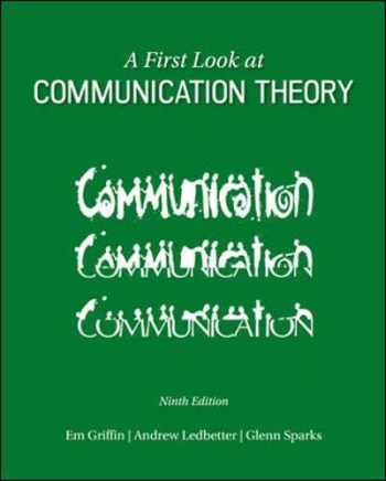 9780073523927-0073523925-A First Look at Communication Theory (Conversations with Communication Theorists)