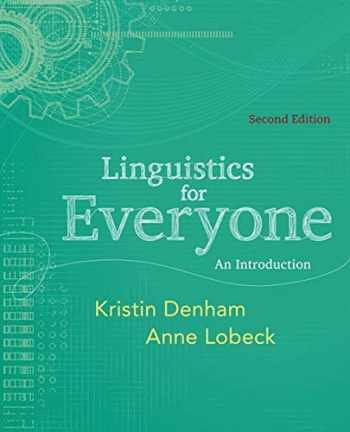 9781111344382-1111344388-Linguistics for Everyone: An Introduction