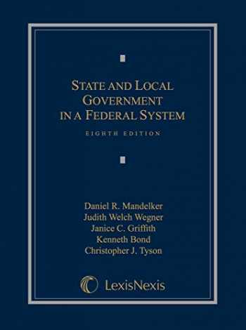9781632808240-1632808242-State and Local Government in a Federal System (2014)