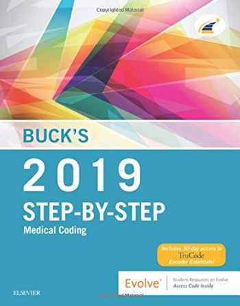 9780323582193-0323582192-Buck's Step-by-Step Medical Coding, 2019 Edition