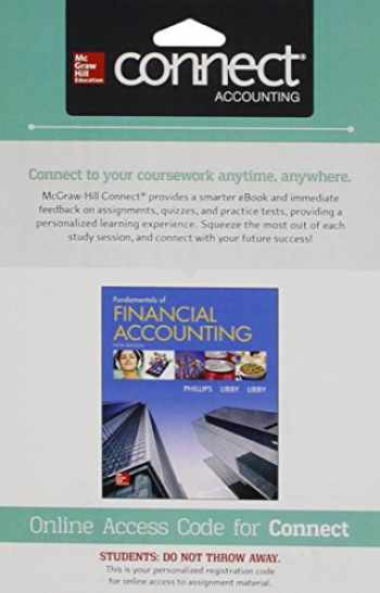 9781259128547-1259128547-Connect 1 Semester Access Card for Fundamentals of Financial Accounting