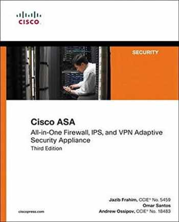 9781587143076-1587143070-Cisco ASA: All-in-one Next-Generation Firewall, IPS, and VPN Services (3rd Edition)