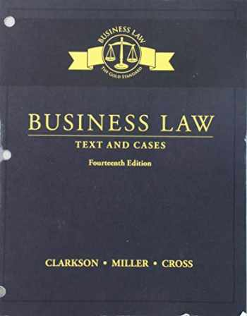 9781337102032-1337102032-Business Law: Text and Cases, Loose-Leaf Version