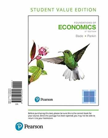 9780134489230-0134489233-Foundations of Economics, Student Value Edition (8th Edition)