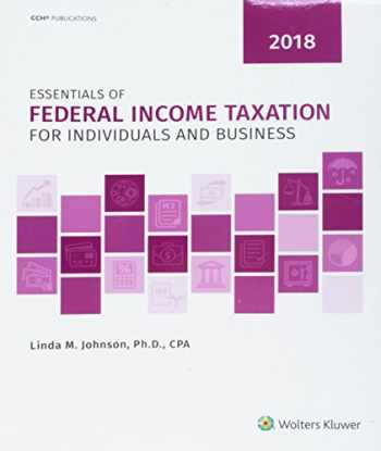 9780808047377-080804737X-Essentials of Federal Income Taxation for Individuals and Business (2018)