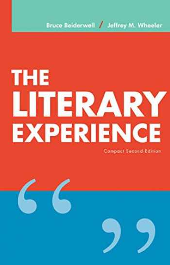 9781337284219-1337284211-The Literary Experience, Compact Edition (with 2016 MLA Update Card)