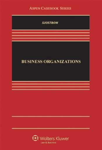 9781454802914-145480291X-Business Organizations (Aspen Casebook)