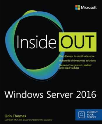 9781509302482-1509302484-Windows Server 2016 Inside Out (includes Current Book Service)