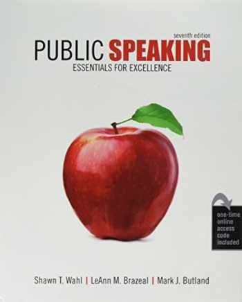 9781524915995-1524915998-Public Speaking: Essentials for Excellence