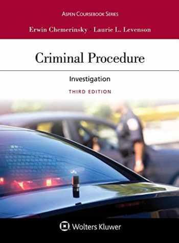 Criminal Procedure: Investigation (Aspen Casebook)
