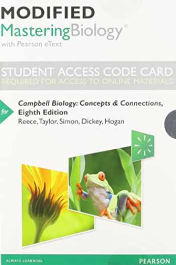 9780321946508-0321946502-Modified Mastering Biology with Pearson eText -- Standalone Access Card -- for Campbell Biology: Concepts & Connections (8th Edition)
