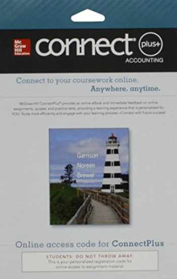 9780077522858-0077522850-Connect 1-Semester Access Card for Managerial Accounting