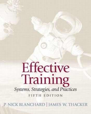 9780132729048-0132729040-Effective Training (5th Edition)