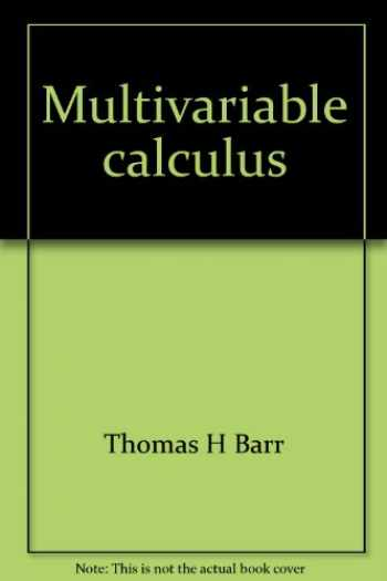 Sell, Buy or Rent Multivariable calculus 9780536600967 0536600961 online