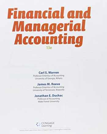 9781305516717-1305516710-Financial and Managerial Accounting + Cengagenowv2, 2 Terms Access Card