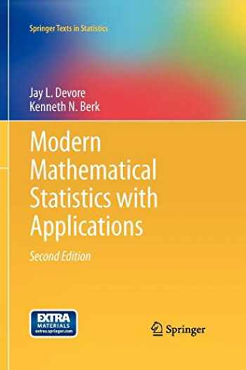 9781461403906-1461403901-Modern Mathematical Statistics with Applications (Springer Texts in Statistics)