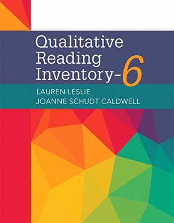 9780134161020-0134161025-Qualitative Reading Inventory (6th Edition)